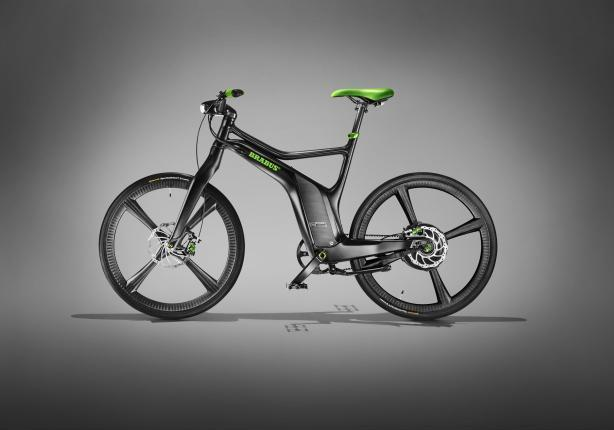 Smart Brabus eBike laterale