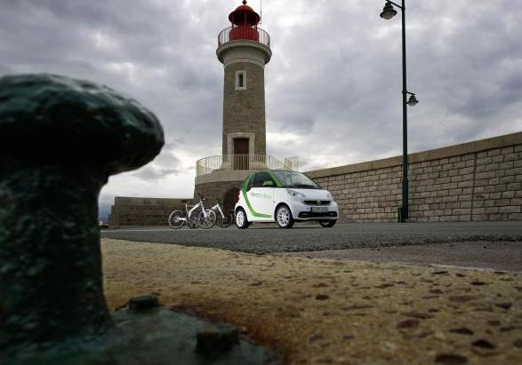 Smart ebike e Smart Fortwo electric drive