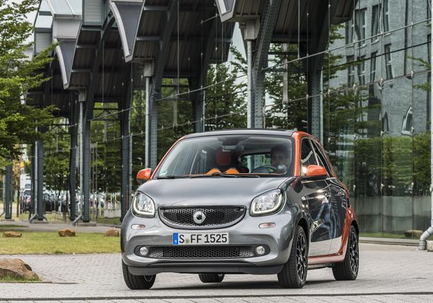 Smart Forfour 70 Twinamic anteriore