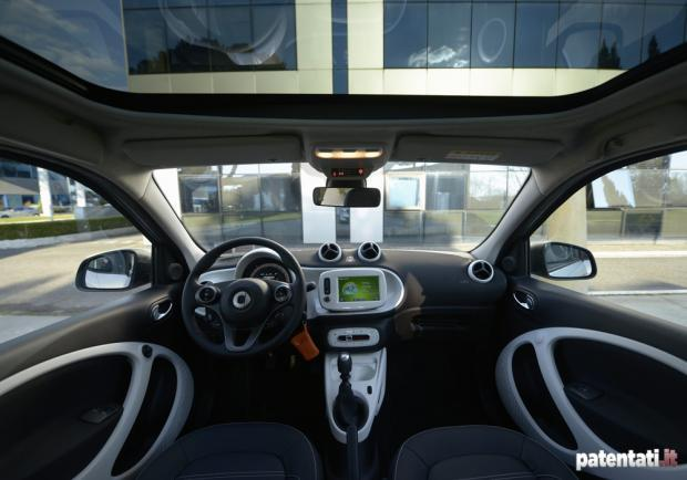 Smart Forfour 90 Turbo abitacolo