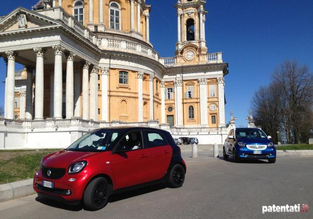 Smart Forfour 90 Turbo test drive