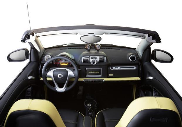 Smart Fortwo Cabrio edition Moscot interni