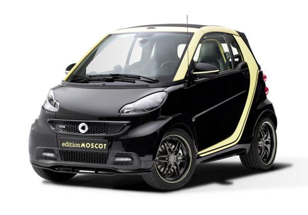 smart fortwo cabrio edition moscot foto e informazioni. Black Bedroom Furniture Sets. Home Design Ideas