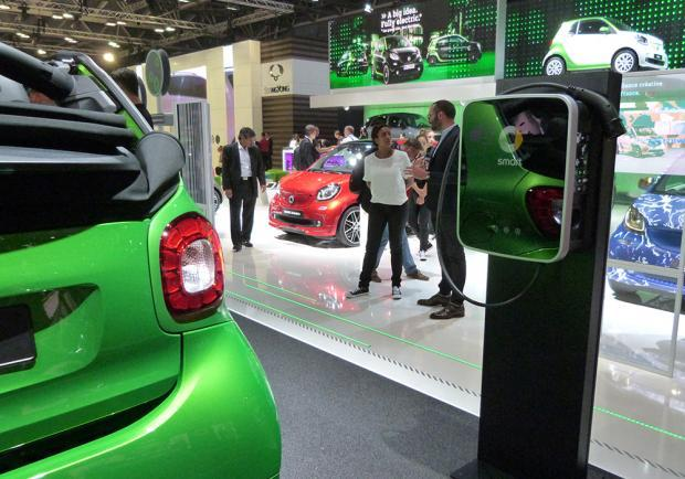 Smart Fortwo Cabrio Electric Drive al Salone di Parigi 2016 3