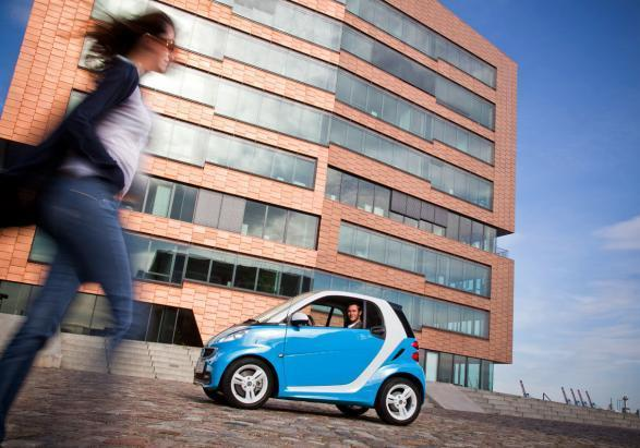 Smart Fortwo Edition Iceshine lato sinistro