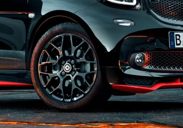 Smart Fortwo Nightrunner cerchi in lega