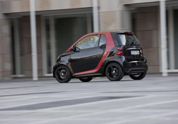Smart Fortwo Sharp Red 3