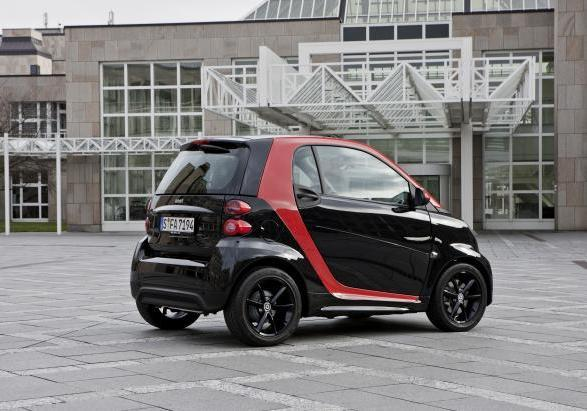 Smart Fortwo Sharp Red 4