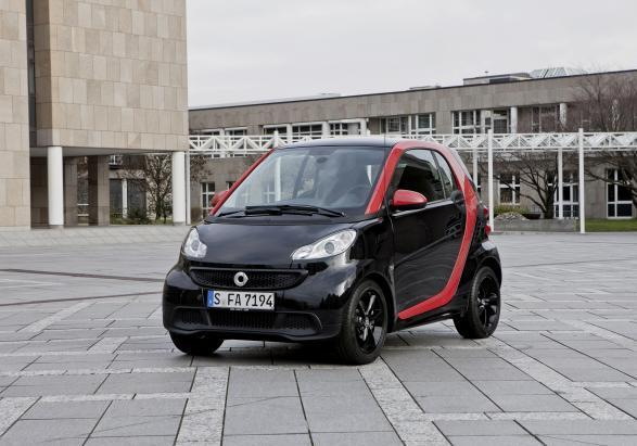 Smart Fortwo Sharp Red