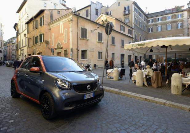Smart Fortwo Smart for Rome