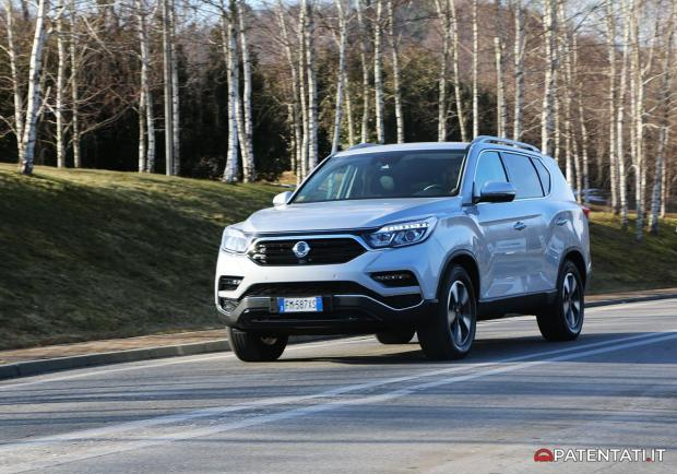 Ssangyong Rexton 2.2 4WD AT test drive