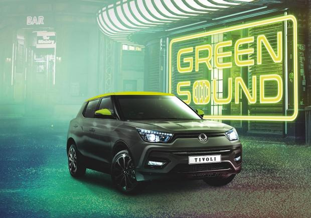 SsangYong Tivoli, l'ultima speciale 'Green Sound'