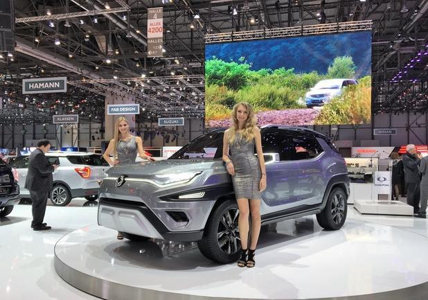 Ssangyong Xavl concept a Ginevra 2017