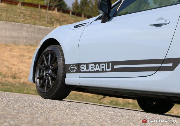 Subaru BRZ Gunma Edition stickers