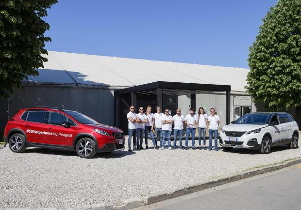 Le Suv Peugeot in tour per le strade italiane 01
