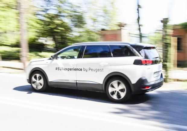 Le Suv Peugeot in tour per le strade italiane 02