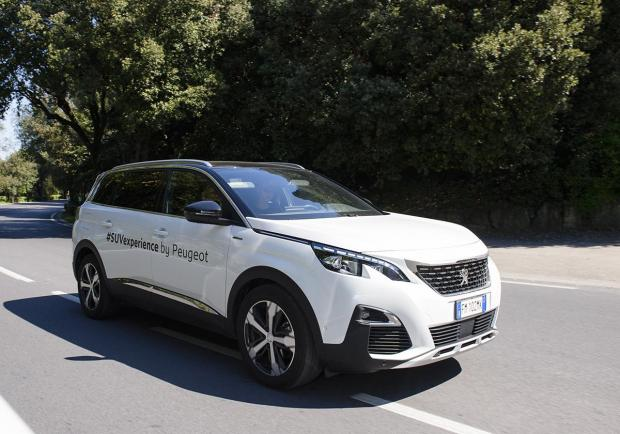 Le Suv Peugeot in tour per le strade italiane 03