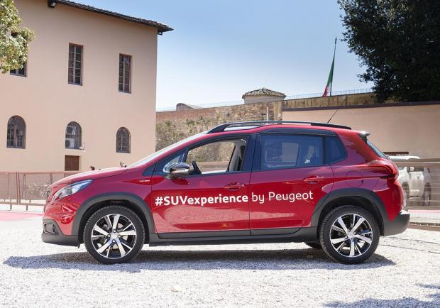 Le Suv Peugeot in tour per le strade italiane 04