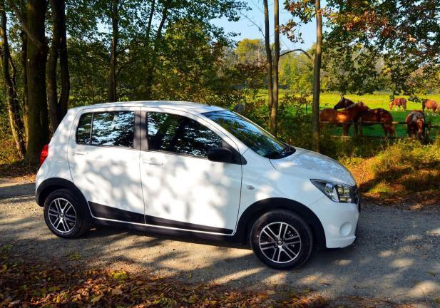 Suzuki Celerio Country tre quarti