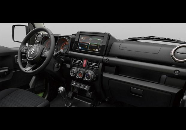 2018 Suzuki Samurai >> Foto Suzuki Jimny interni - Patentati