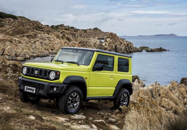 Suzuki Jimny finalista del World Urban Car e World Car Design 03