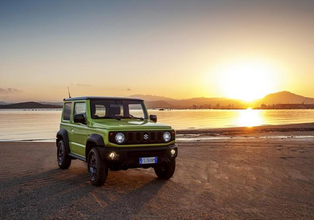 Suzuki Jimny finalista del World Urban Car e World Car Design 04