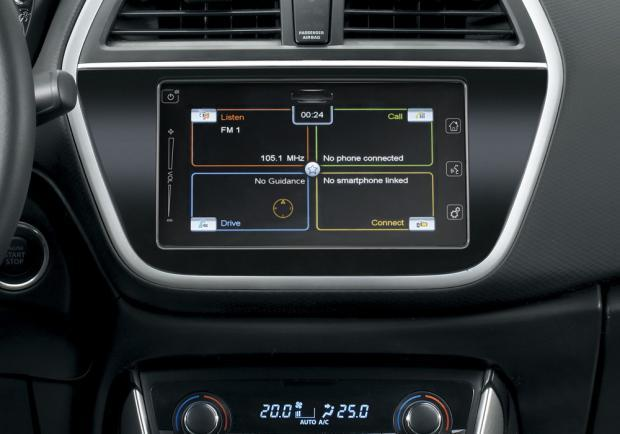 Suzuki S-Cross iConnect Limited Edition display touchscreen