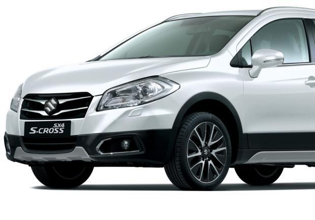 Suzuki S-Cross iConnect Limited Edition sezione anteriore