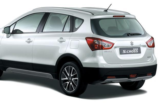 Suzuki S-Cross iConnect Limited Edition sezione posteriore