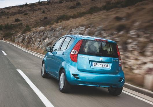 Suzuki Splash per neopatentati