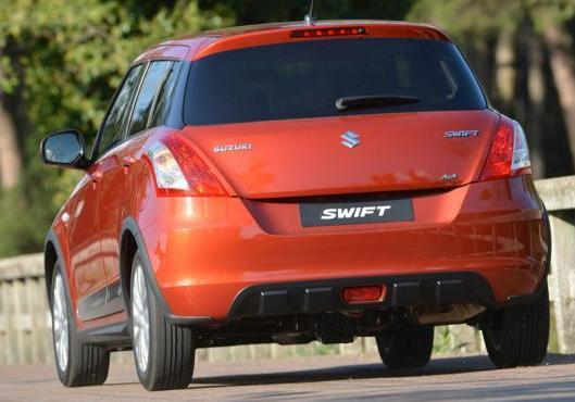 Suzuki Swift 4x4 immagine 2