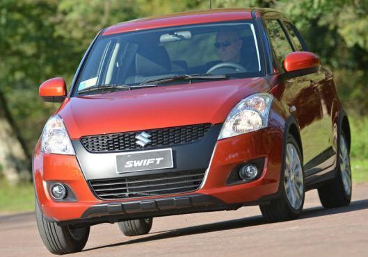 Suzuki Swift 4x4 Outdoor anteriore
