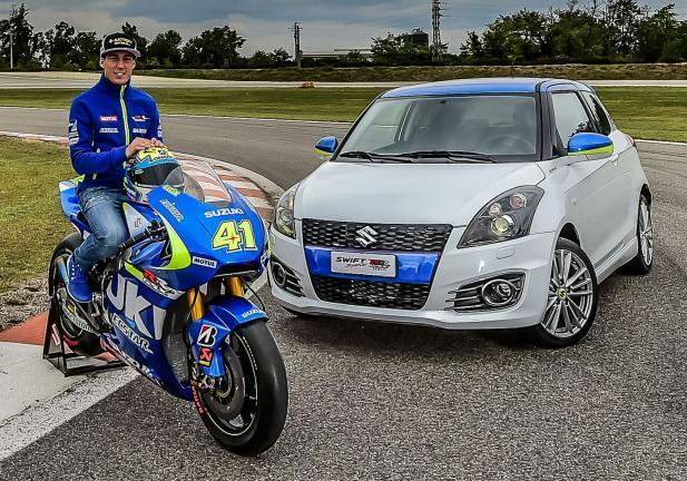 Suzuki Swift GSX-RR Tribute in pista