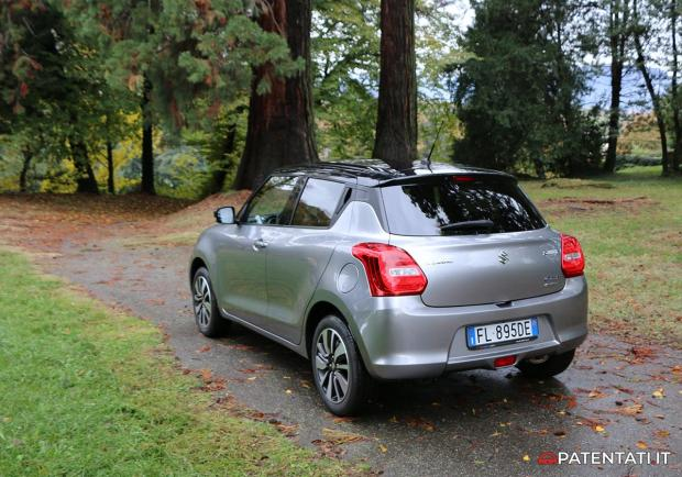 Suzuki Swift 1.2 HYBRID 4WD test drive