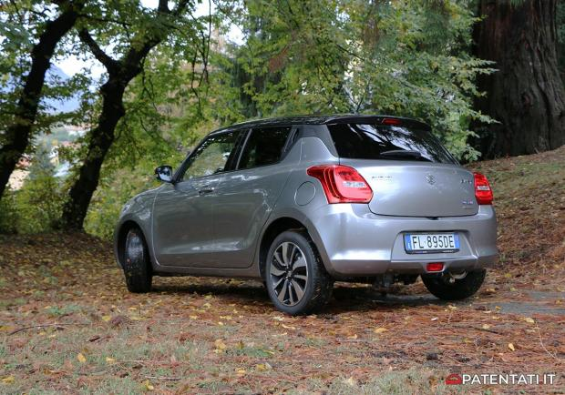 Suzuki Swift 1.2 ibrida 4x4 prova su strada