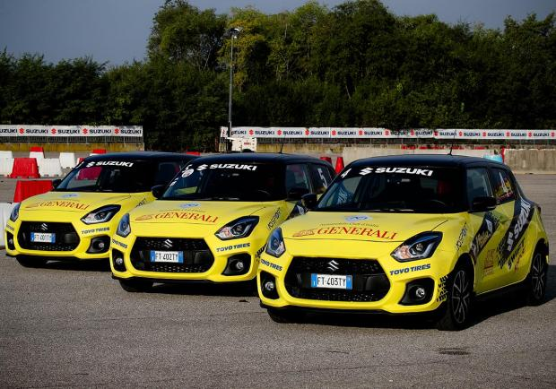 Suzuki Swift Sport, l'auto di Rally Italia Talent 2020 04