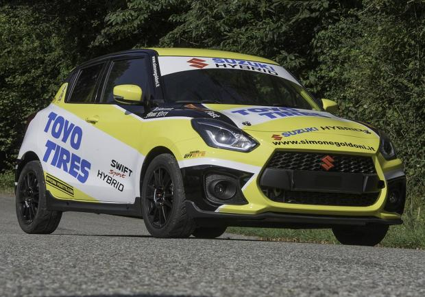 Suzuki Swift Sport Hybrid R1, il debutto dell'ibrido nei rally 01