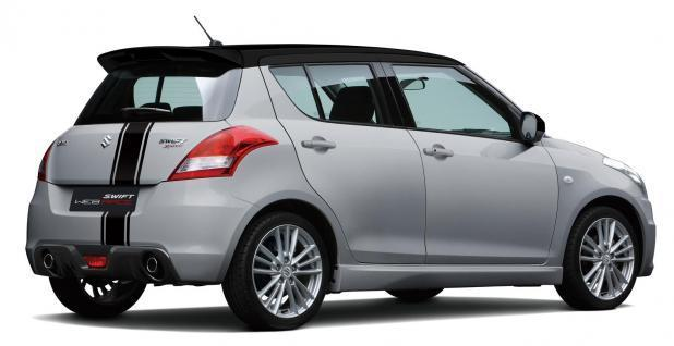 Suzuki Swift Sport Web Race argento