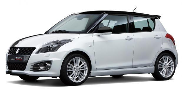 Suzuki Swift Sport Web Race bianco