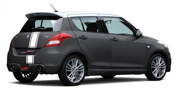 Suzuki Swift Sport Web Race grigio scuro