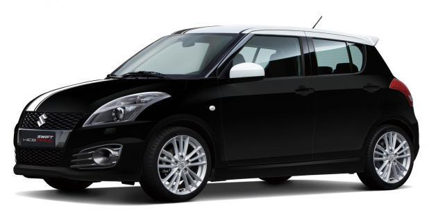 Suzuki Swift Sport Web Race nero metallizzata