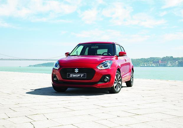 Suzuki Swift, un triello per il World Urban Car 2018 01