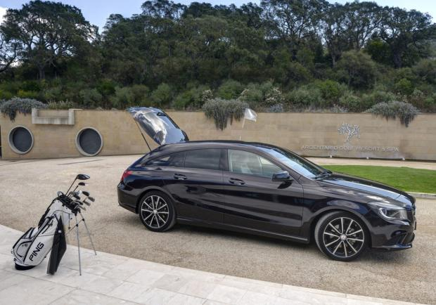 Test drive CLA 200 CDI Shooting Brake