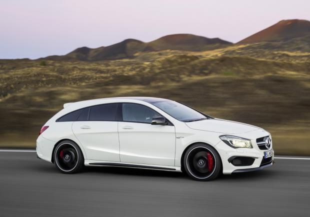 Test drive CLA Shooting Brake 45 AMG