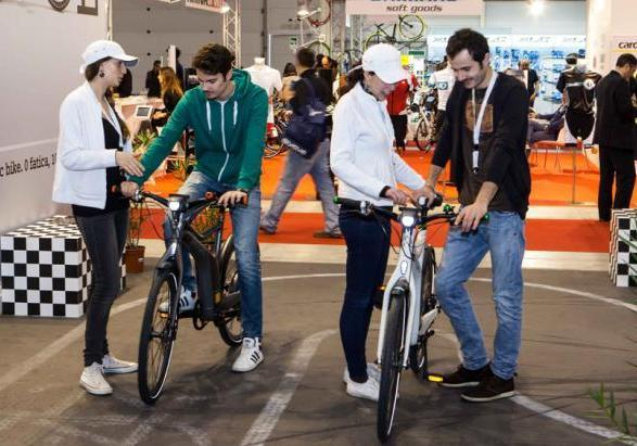 Test Smart ebike al Bici@Roma Expo