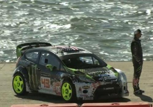 Video Gymkhana 5 Ford Fiesta WRC e Ken Block