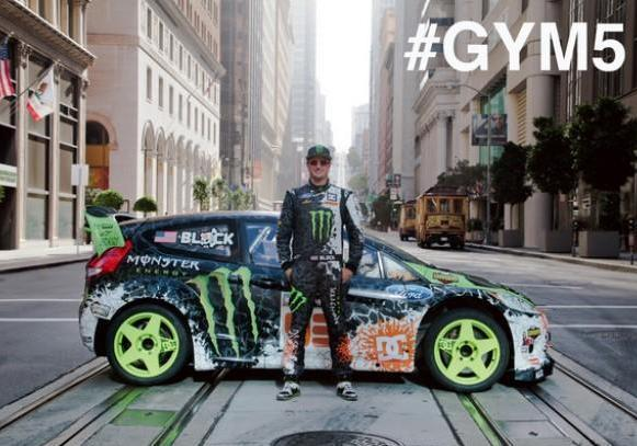 Video Gymkhana 5 Ken Block