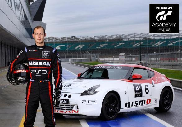 vincitore europeo del GT Academy 2012 Wolfgang Reip