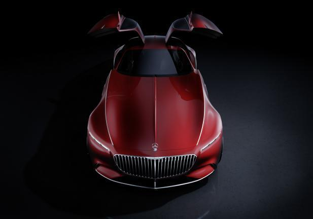 Vision Mercedes-Maybach 6 alto