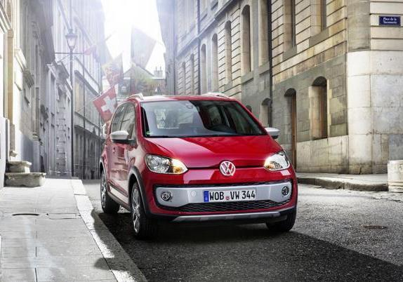 Volkswagen Cross Up! anteriore